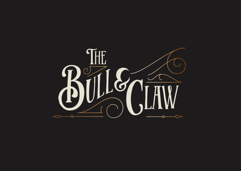 BULL AND CLAW SIGN AND BRANDING-01